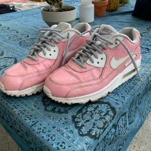 Pink Leather Nike Air Max